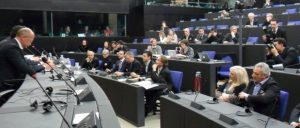 Strasburgo pubblico gelato